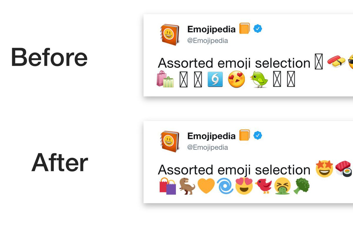 Photo of Twitter is finally getting its own dedicated emoji for Android users because of fragmentation