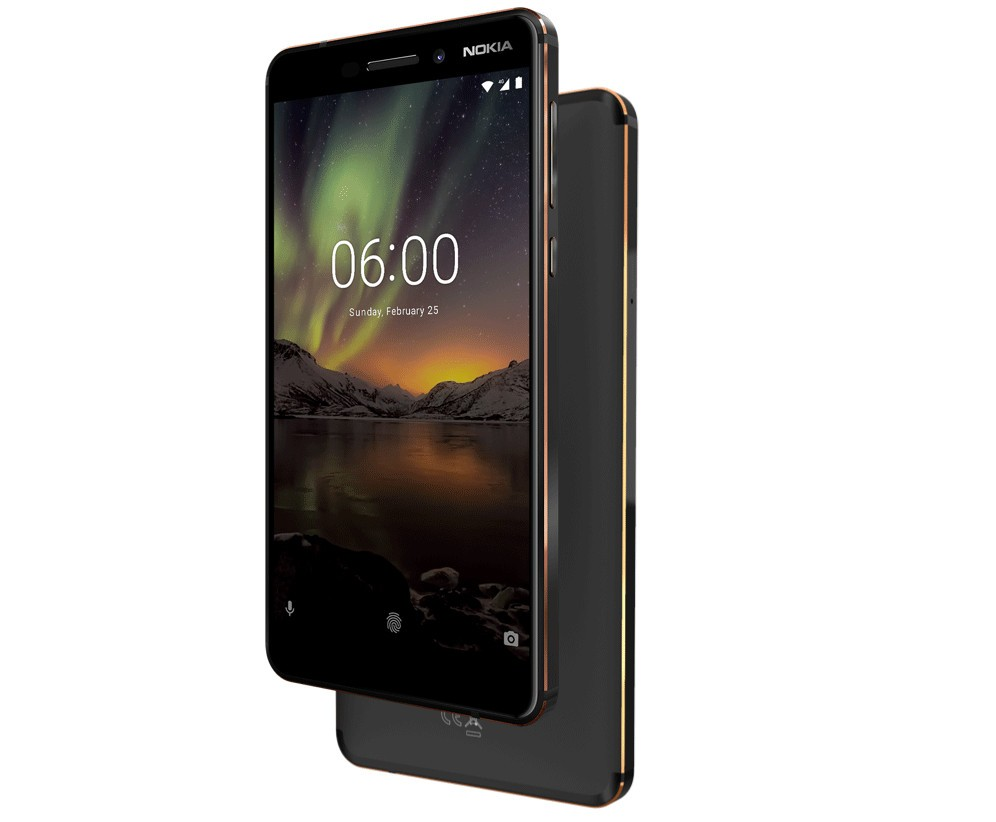Photo of Nokia 6 (2018) Now Officially available in the US for $269