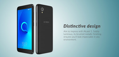 Photo of Alcatel 1 (Android Go) Smartphone has been launched