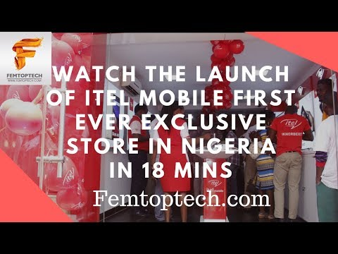 Photo of Watch the launch of Itel Mobile first ever exclusive store in Nigeria in 18 mins