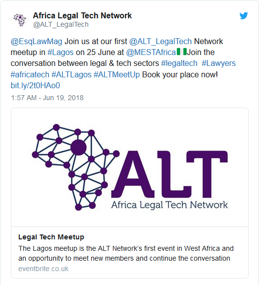 Photo of Tech Events for the Week: CodeFest Nigeria Hackathon, Legal Tech Meetup, Tech in Heels and more