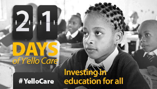 Photo of MTN Yello Care Campaign begins, To last for 21 days