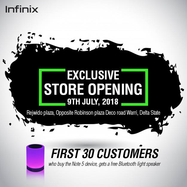 Photo of Infinix is set to open its first official flagship exclusive store in Nigeria
