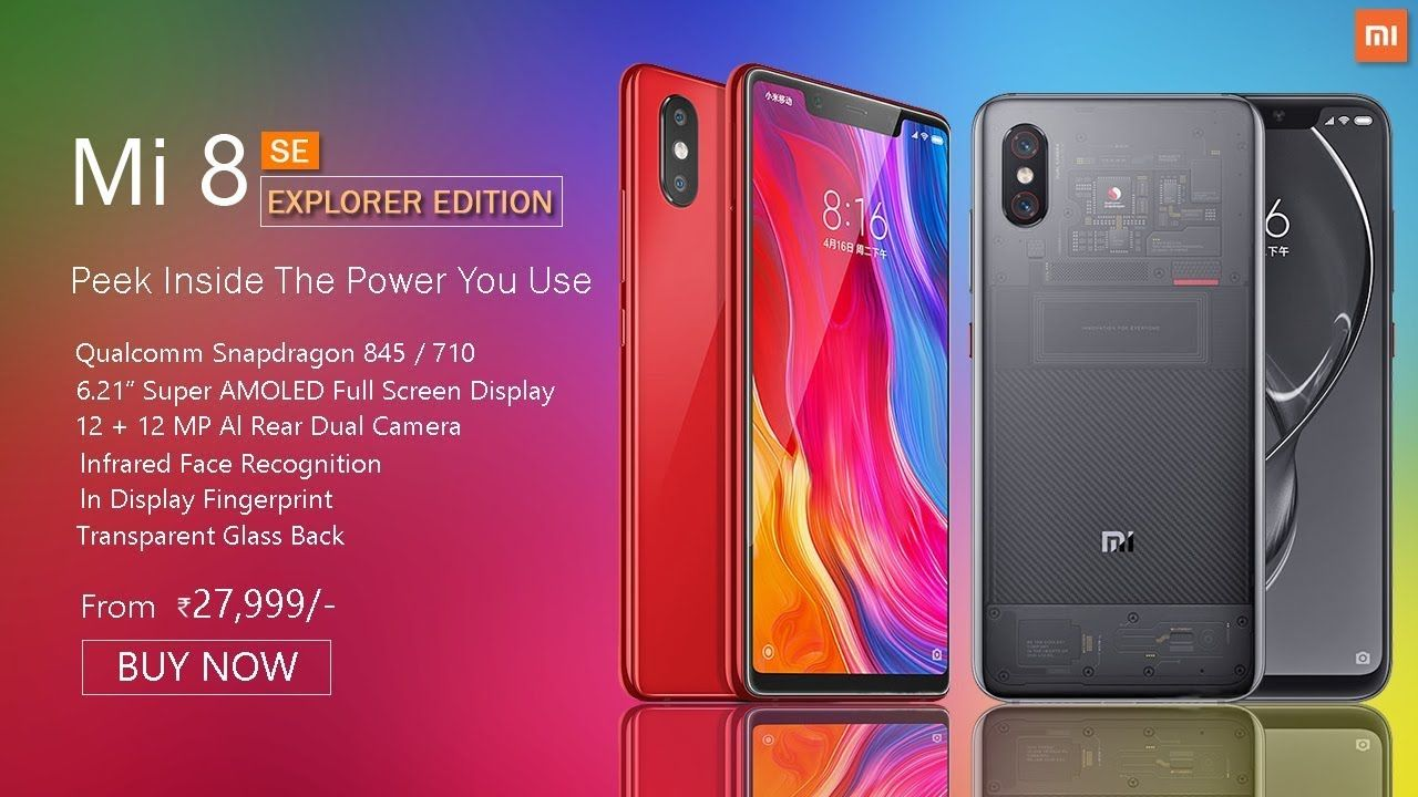 Photo of Xiaomi Mi 8 explorer to go on sale on July 30th