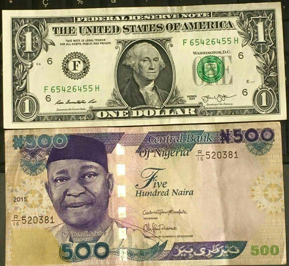 Photo of How Much Is 1 Dollar, Pound, Euro To Naira Exchange Rate Today
