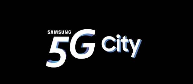 Photo of Samsung shows us a preview of what a 5G city will look like