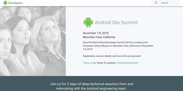 Photo of Google's Android Developer summit to hold from November 7 – 8