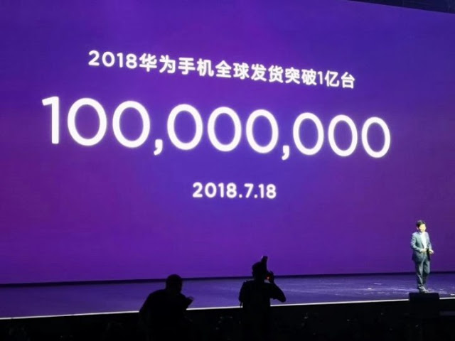 Photo of Huawei hits 100 million device sales for 2018