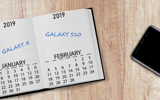Photo of Galaxy S10 and the foldable Galaxy X to come early in 2019