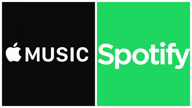 Photo of Spotify bows out to Apple as top music-streaming service in the US
