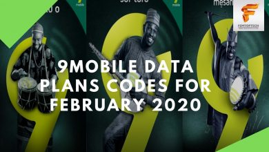 Photo of 9Mobile Data Plans Codes For February 2020