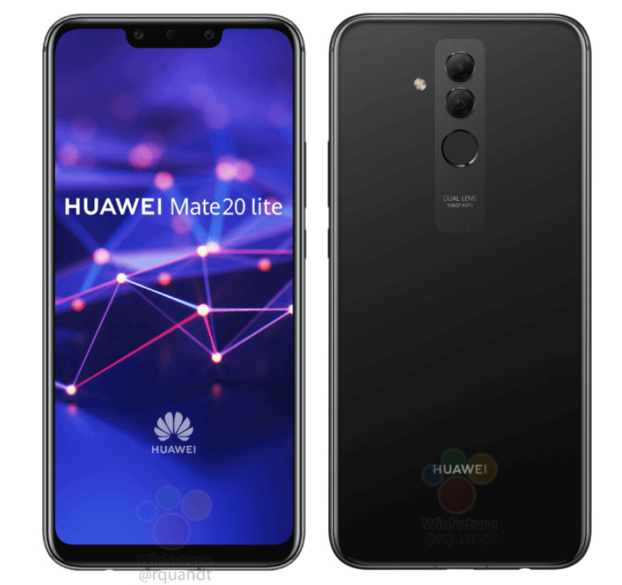Photo of Huawei Mate 20 Lite with FullView display, 6GB RAM and More; Images and Specs Leaked