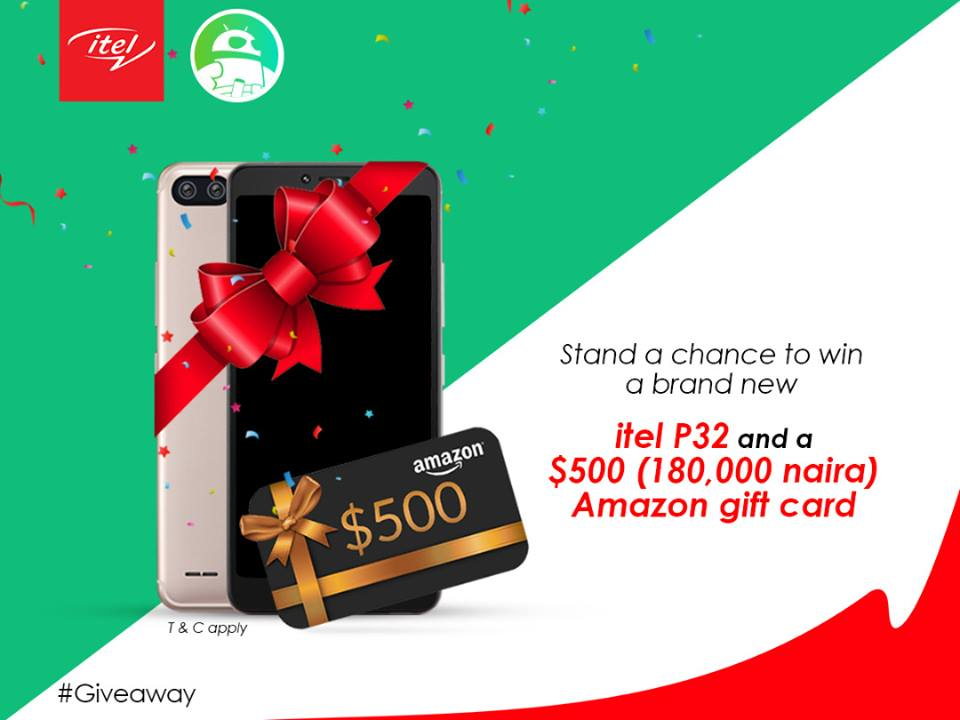Photo of Itel Mobile and Android Authority to give out itel P32 and $500 (180,000 naira), see how to win it