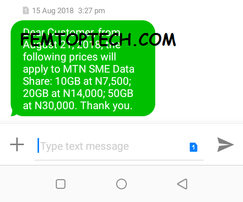 Photo of Again, MTN to increase the prices of SME data bundles from August 21
