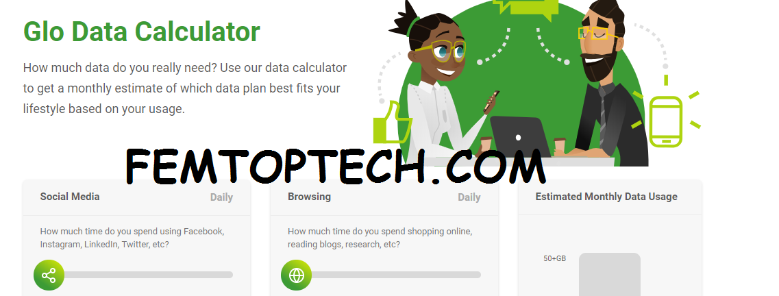 Photo of How Glo Data Calculator Works?