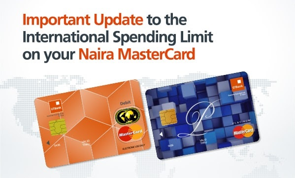 Photo of GTBank Resumes International ATM Naira Master Card Withdrawals at $300 Daily Limit