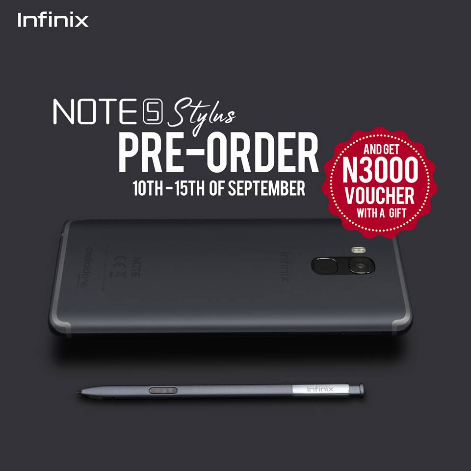 Photo of You can now Pre-order Infinix Note 5 Stylus with just N3000, See how