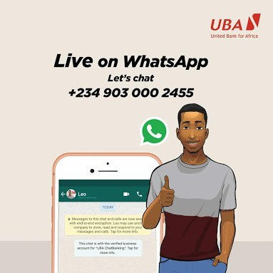 Photo of See how to use UBA Whatsapp Banking