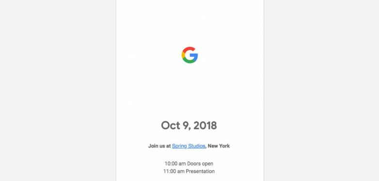 Photo of Google is set to launch the Pixel 3 and Pixel 3 XL on October 9
