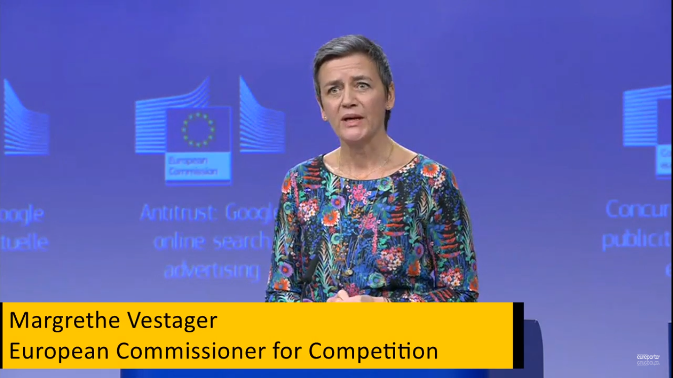 Google just chop fresh €1.5 billion fine from the EU