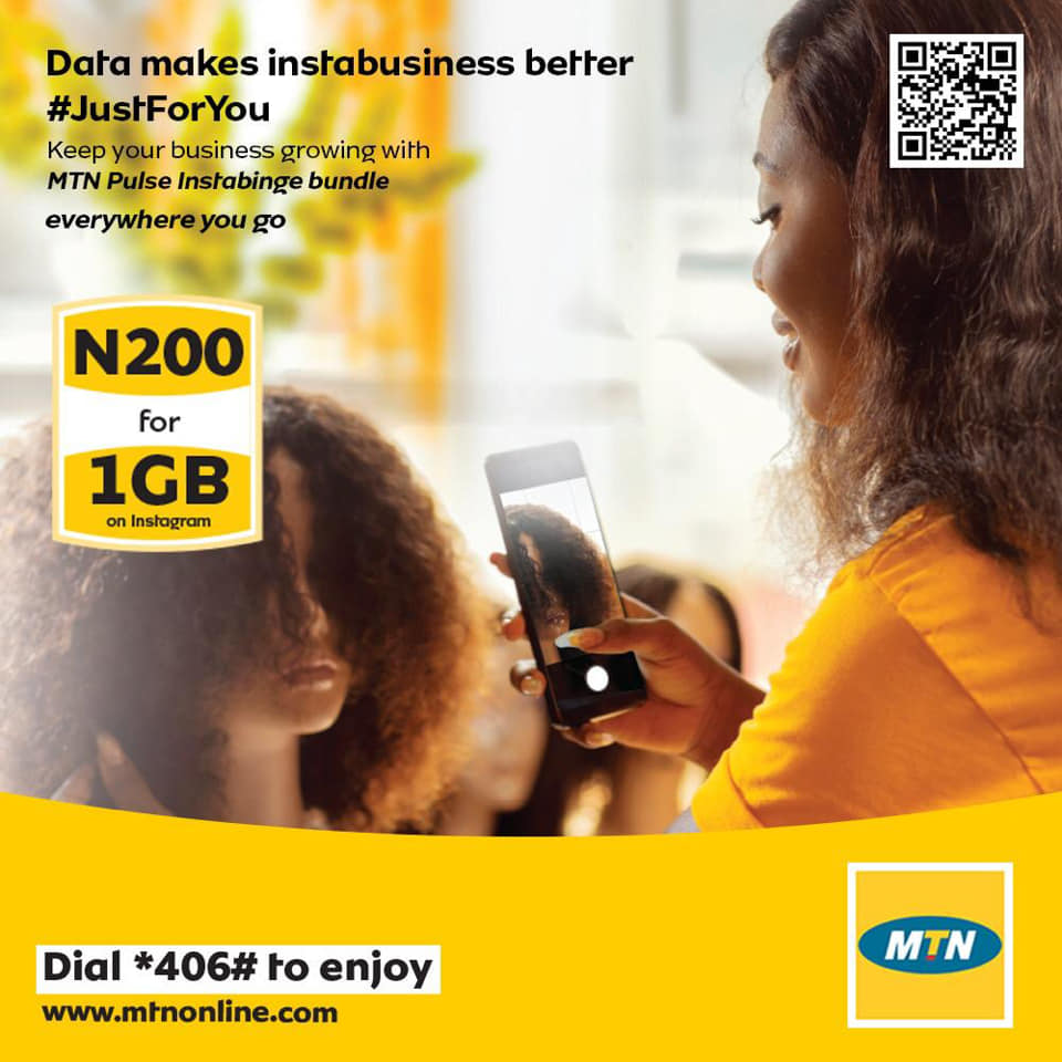 Photo of MTN Nigeria Launches N200 For 1GB Data Plan, See How To Activate It