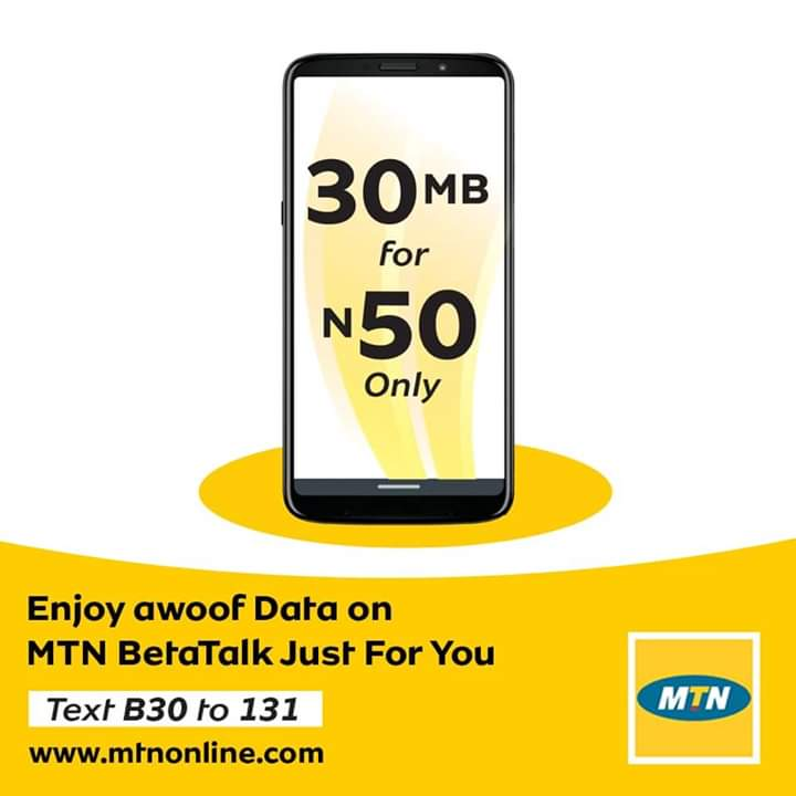 Photo of Introducing MTN BetaTalk N50 for 30MB, How To Activate