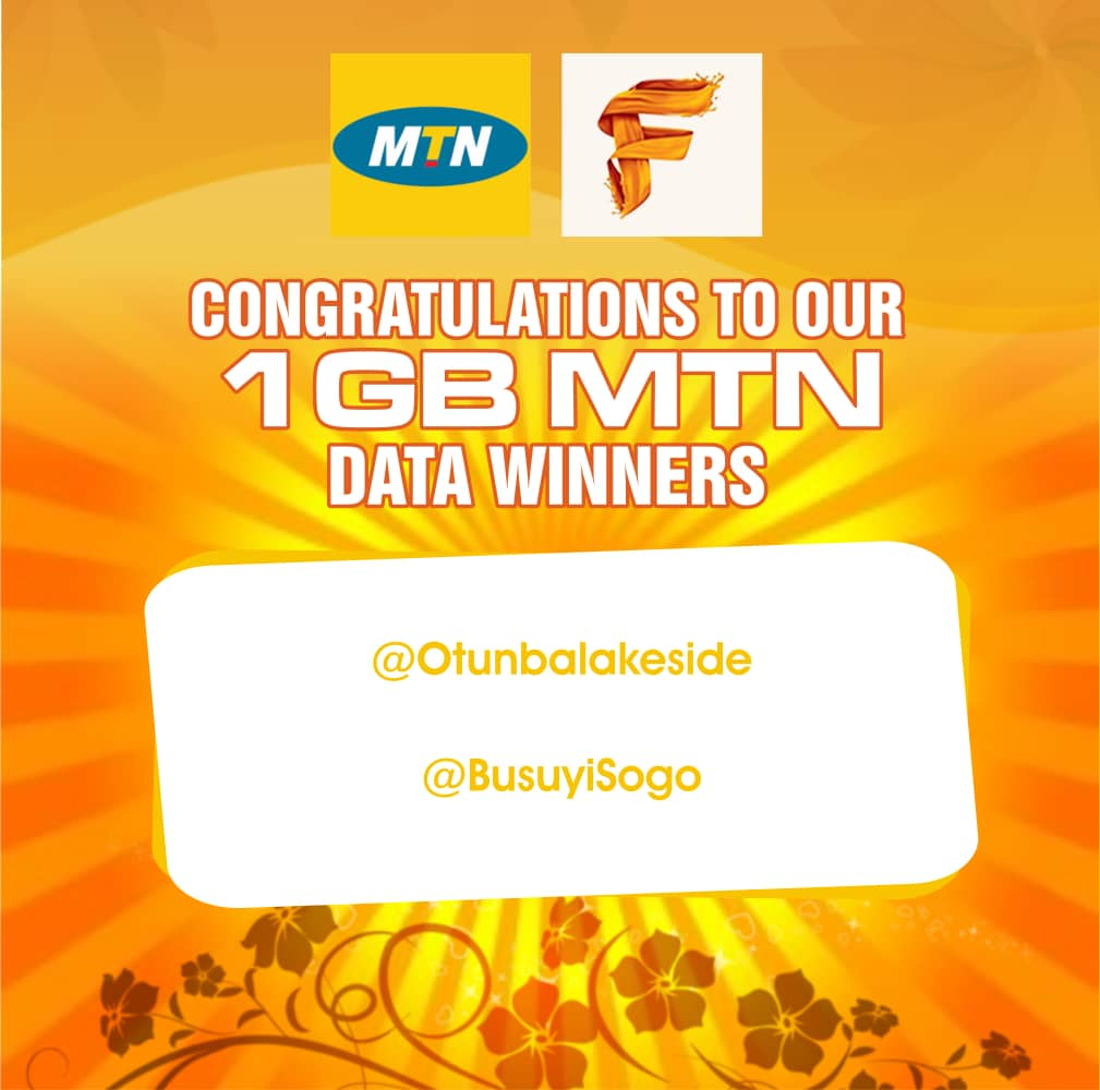 Photo of Meet the winners of our MTN data giveaway