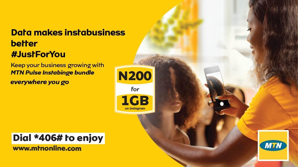 Photo of MTN Instabinge bundle of N200 for 1GB now valid for 3 days