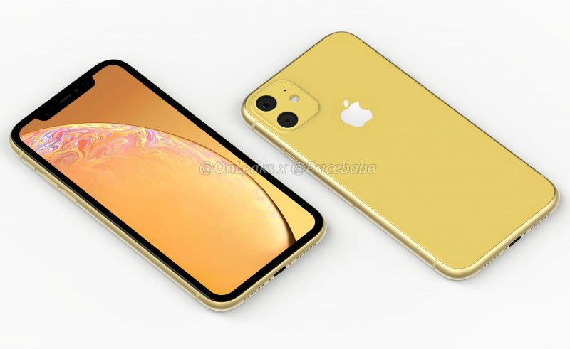 Photo of 2019 iPhone XR with dual rear cameras Leaked
