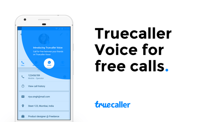 """You can now make free calls using """"Truecaller Voice"""" on Android"""