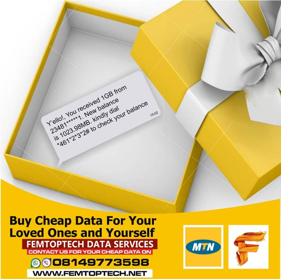 Photo of Buy the cheapest Glo, MTN, Airtel and 9mobile data bundle from Us starting from N500/1GB
