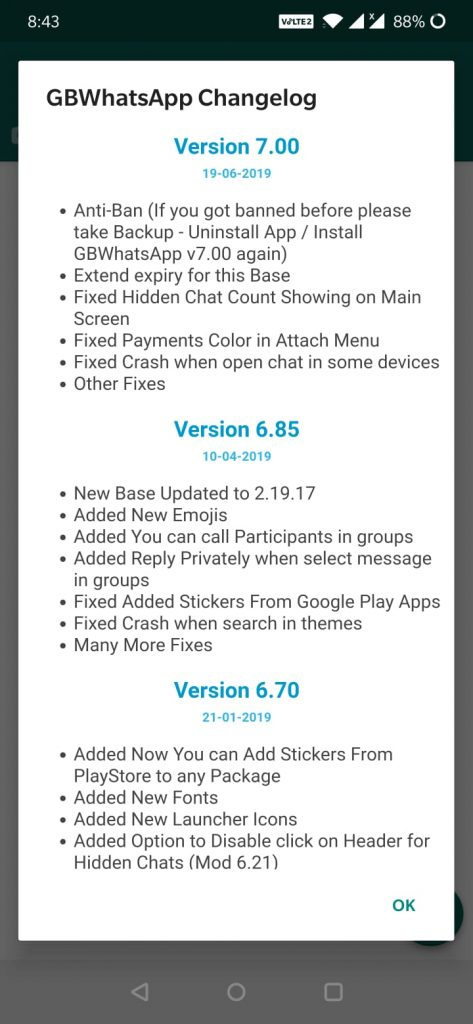 Photo of Download latest GBWhatsapp Apk V7.00 with Anti-ban features
