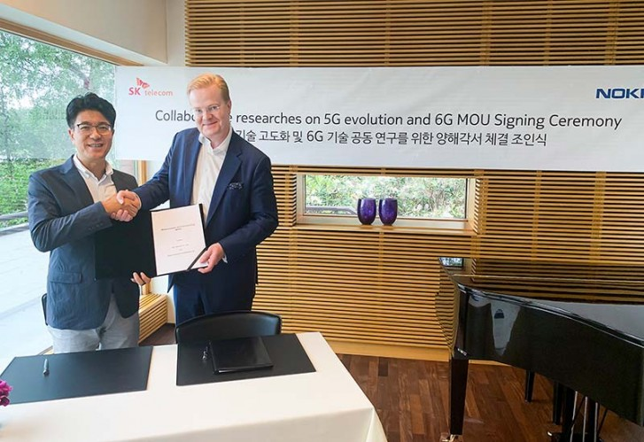 SK Telecom team-up with Nokia and Ericsson in 6G research
