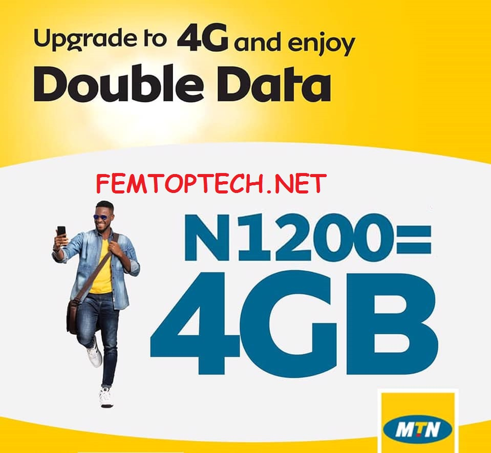 Photo of Double Data Offer: MTN 4GB For N1200, How To Activate It
