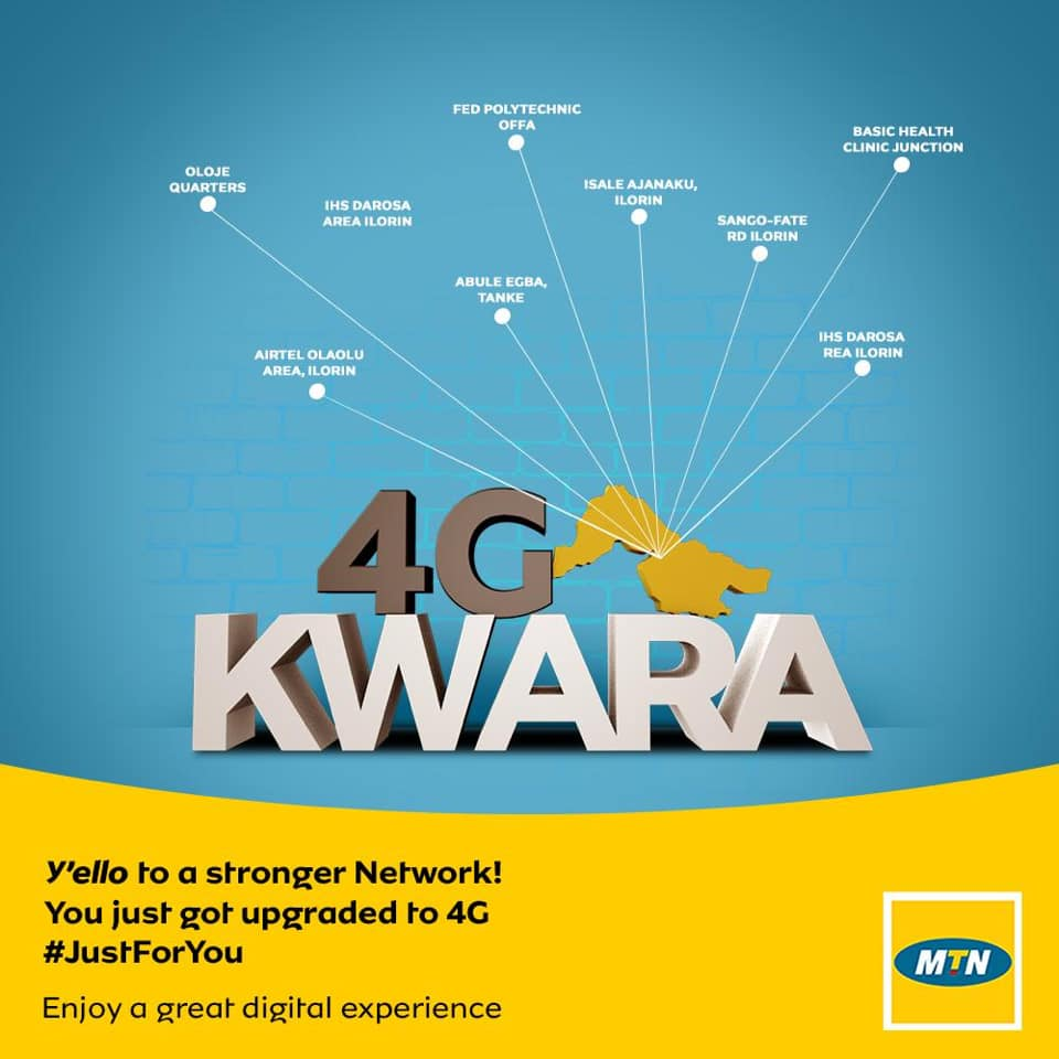 MTN 4G Now Live In Kwara State