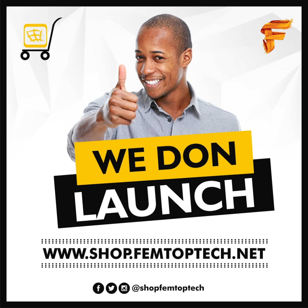 Photo of We don launch shop.femtoptech.net