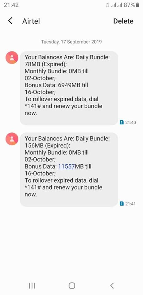 New Airtel Trick Gives 4.6GB Data For N200, 23GB For N1000, See How To Activate It