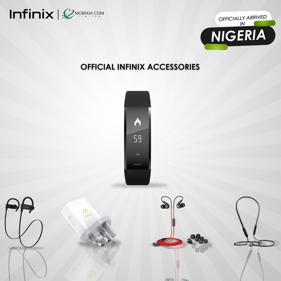 Infiinix X-Pod, X-Band, Bluetooth Earpiece and others now available in Nigeria