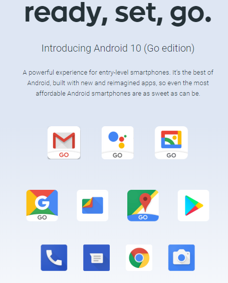 Google roll-out Android 10 Go edition, set to make debuts on Itel S15 and others