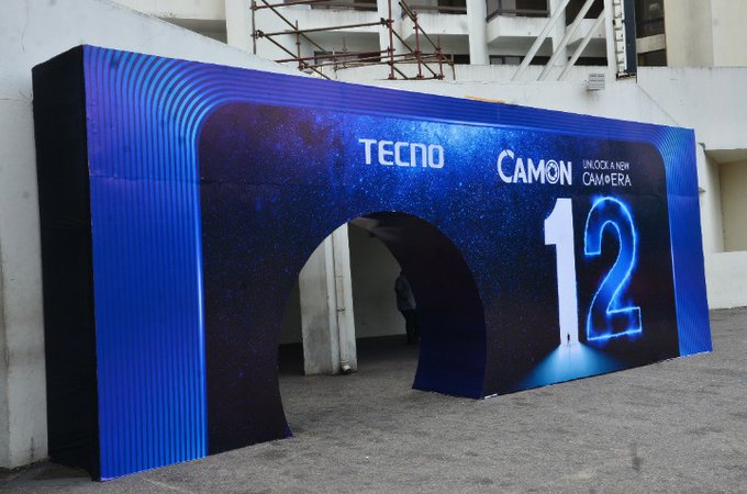 Watch Live Tecno Camon 12 and 12 Pro Launch Event Here