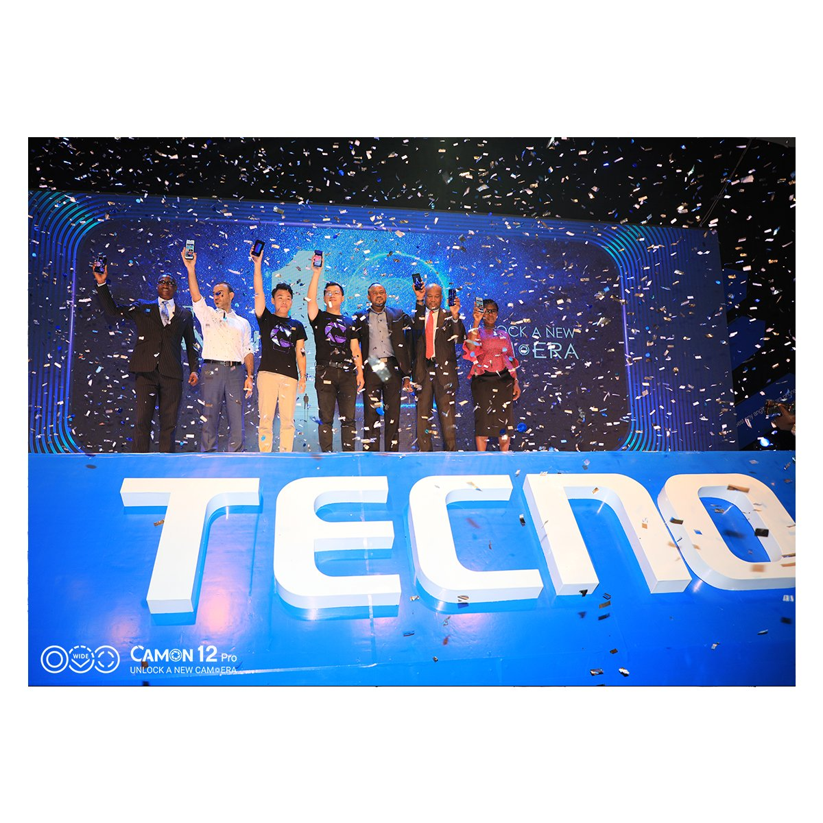 Photo of TECNO Mobile unveils three new Camon devices, Camon 12, 12 Pro and 12 Air