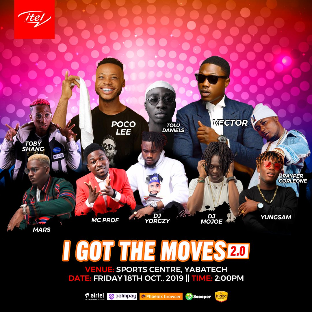 "Photo of Itel is giving out N500,000 at the ""I Got The Moves Dance Competition"" happening today"