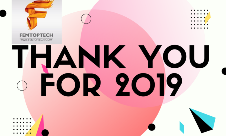Thank You For 2019