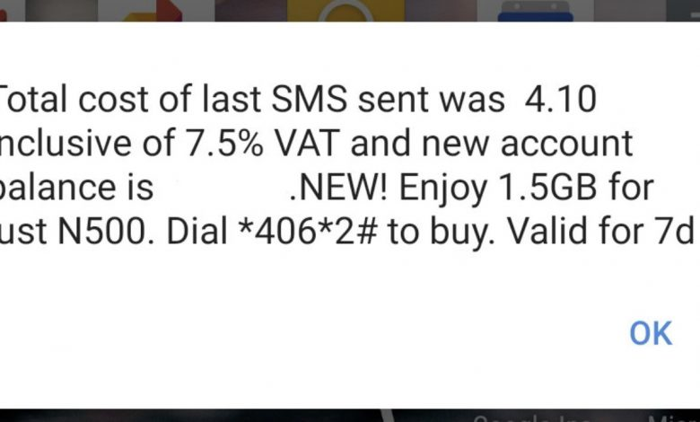 Mobile operators now charge 7.5 VAT on all Calls, SMS and Data