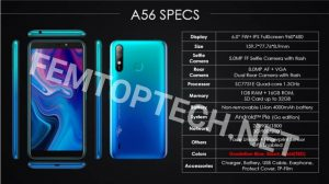 Itel A56 Price, Specs And Availability In Nigeria