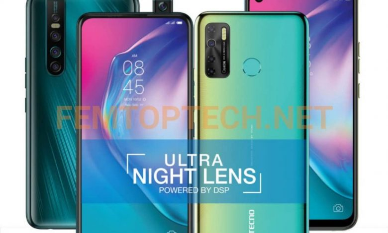 Tecno Camon 15 and 15 Pro with Android 10 and 5,000 mAh Launched